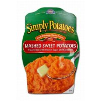 Simply Potatoes Mashed Sweet Potatoes 24oz PKG product image