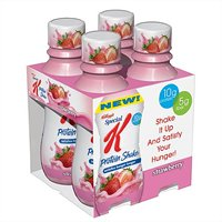 Special K Protein Shake Strawberry 4CT 10oz EA