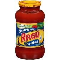 Ragu Spaghetti Sauce Old World Style Traditional 24oz Jar product image