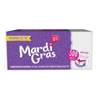 Mardi Gras Napkins 1Ply Value Pack 500CT product image