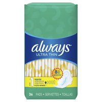 Always Ultra Thin Regular Pads with Flexi-Wings 36CT