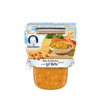 Gerber 3rd Foods Mac & Cheese Dinner Lil Bits 10oz 2PK