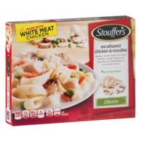Stouffer's Escalloped Chicken & Noodles 12oz PKG