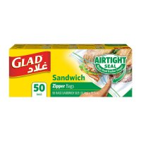 Glad Zipper Sandwich Bags 50CT product image