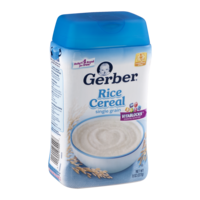 Gerber Rice Cereal Single Grain 8oz Tub product image