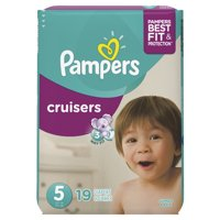 Pampers Cruisers Size 5 (27 Plus LBS) Jumbo Pack 21CT
