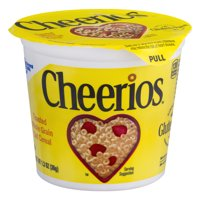 General Mills Cheerios Cereal Single 1.3oz Cup