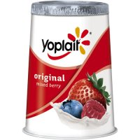 Yoplait Original Yogurt Lowfat Mixed Berry 6oz Cup