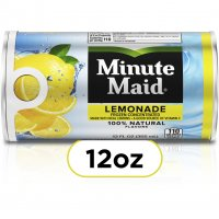 Minute Maid Lemonade from Concentrate 12oz Can