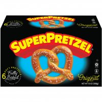 Superpretzel Soft Pretzels 6CT 13oz Box
