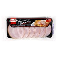 Hormel Black Label Canadian Style Bacon Thick Cut 6oz PKG