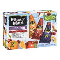 Minute Maid Frozen Juice Bars Variety Pack Squeeze Bars 12CT 27oz PKG