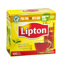 Lipton Tea Bags 100% Natural Tea 100CT