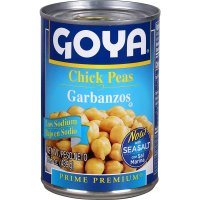 Goya Chick Peas Garbanzos 15.5oz Can