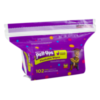 Huggies Pull-Ups Big Kid Flushable Wipes Refill 102CT