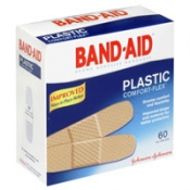 Johnson & Johnson Band-Aid Plastic Bandages 60CT PKG