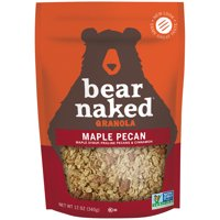 Bear Naked All Natural Granola Maple Pecan 12oz Bag product image