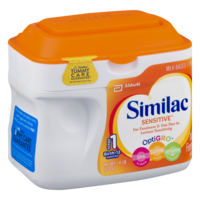 Similac Sensitive Infant Formula for Fussiness & Gas Powder 1.41LB Tub product image
