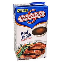 Swanson Beef Broth 32oz. Box