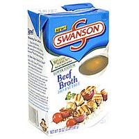 Swanson Beef Broth Low Sodium 32oz. Box