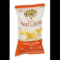 Cheetos Natural Puffs White Cheddar 8oz Bag