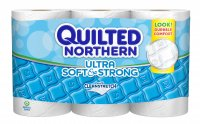 Quilted Northern Bath Tissue Ultra Soft & Strong Double Roll 2-Ply 6CT product image