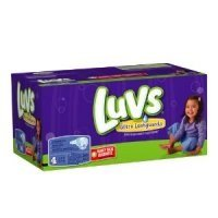 Luvs Diapers Size 4 (22-37LB) Family Pack 76CT PKG