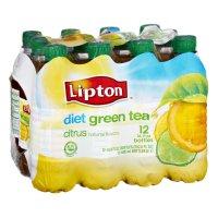 Lipton Green Tea with Citrus Diet 12PK of 16.9oz. BTLS