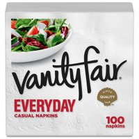 Vanity Fair Premium Quality Napkins White 2Ply 100CT