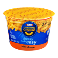 Kraft Easy Mac Triple Cheese Macaroni & Cheese Dinner Cup 2.05oz