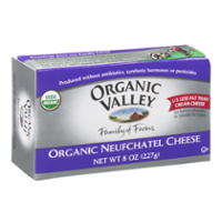 Organic Valley Neufchatel Cheese 8oz. Bar