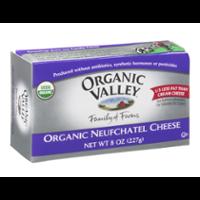 Organic Valley Neufchatel Cheese 8oz. Bar