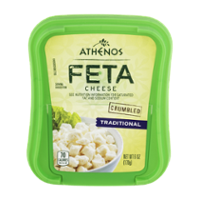 Athenos Feta Cheese 6oz Crumble Traditional