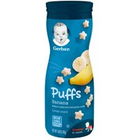 Gerber Graduates Puffs Banana 1.48oz PKG