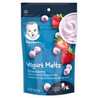 Gerber Graduates For Toddlers Yogurt Melts Strawberry 1oz PKG
