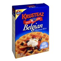 Krusteaz Light & Crispy Belgian Waffle Mix 28oz Box