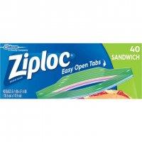 Ziploc Sandwich Bags 40CT