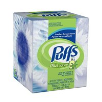 Puffs Plus Facial Tissue with Lotion 56CT Box
