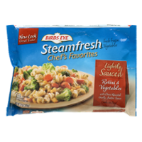 Birds Eye Steamfresh Lightly Sauced Pasta Rotini & Vegetable 12oz Bag