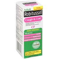 Robitussin Multi Symptom Cold CF Syrup 4oz BTL