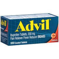 Advil Ibuprofen 200 mg Coated Tablets 100CT