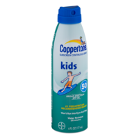 Coppertone Kids Continuous Sunblock Spray SPF 50 6oz BTL product image