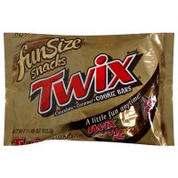 Twix Caramel Cookie Bars 10.83oz Bag