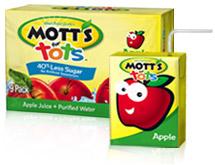 Mott's For Tots Apple Juice 8PK of 6.75oz Boxes
