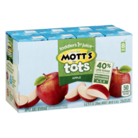Mott's For Tots Apple Juice 8PK of 6.75oz Boxes
