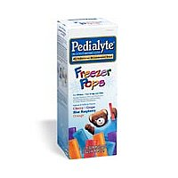 Pedialyte Oral Electrolyte Maintenance Solution Freezer Pops Assorted Flavors 16CT