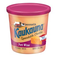 Kaukauna Spreadable Port Wine Cheese 12.6oz Tub