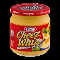 Kraft Cheese Whiz Original Cheese Dip 15oz Jar product image