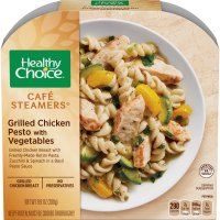 Healthy Choice Cafe Steamers Grilled Chicken Pesto with Vegetables 9.9oz PKG