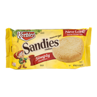 Keebler Sandies Simply Shortbread Cookies 11.2oz PKG